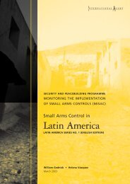Latin America - International Alert