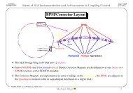 Orbit correction, response matrix and feedback - ADOS