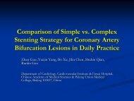 Comparison of Simple vs. Complex Stenting Strategy ... - Citmd.com