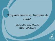 """""""Emprendiendo en tiempos de crisis"""""""