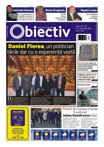 D Daniel Florea, un politician tânãr dar cu o experienþã ... - Obiectiv