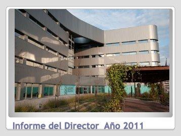 Informe del Director - Severo Ochoa