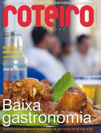 R$ 5,90 - Roteiro Brasília