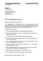 Öffentlich geförderte Beschäftigungsverhältnisse - Marion Vogdt MdL