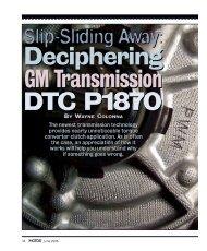 Deciphering GM Transmission DTC P1870 - MOTOR Information ...
