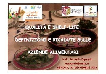 Prof. Antonello Paparella apaparella@unite.it GENOVA, 27 ...