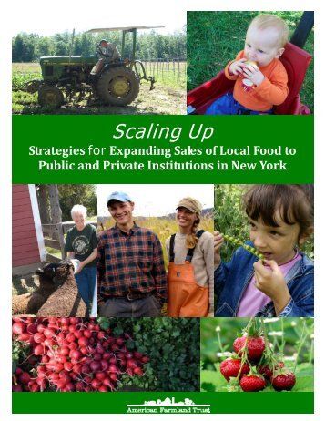 Scaling Up - American Farmland Trust - New York