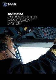 AviCom brochure (pdf) - Saab