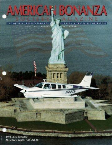 July 1996 - American Bonanza Society