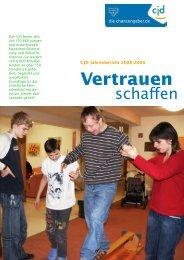 Jahresbericht 2008 | 2009 - CJD BerufsFörderungsZentrum Wesel
