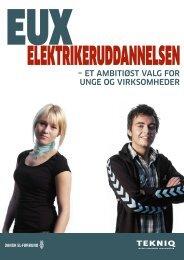 EUX-elektriker – det ambitiøse valg for unge og virksomheder - EVU