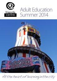 FC brochure Summer 2014
