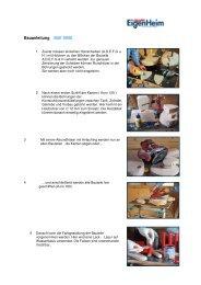 Bauanleitung Schaukelmotorrad Bausatz