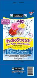 Ferti-Lome Hydrostretch Soil Amendment Label - Do My Own Pest ...