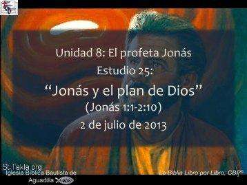 Jonás - Iglesia Biblica Bautista de Aguadilla, Puerto Rico