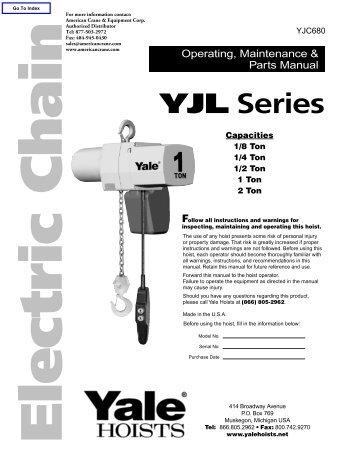 yjc680 products on american crane equipment corp?quality\\\=85 kone crane wiring diagram konecranes cxt manual \u2022 free wiring harrington hoist wiring diagram at highcare.asia