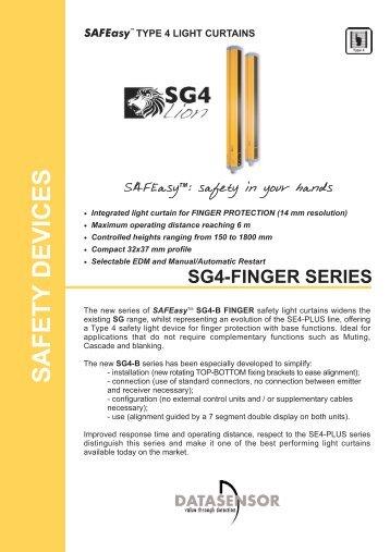 SG4-14 datasheet - Datasensor