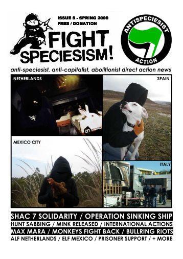 8 - Spring 2009 - Animal Liberation Front