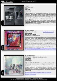cD/lp c D lp - Tuba Records