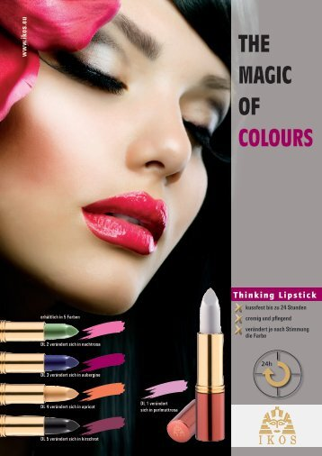 THE MAGIC OF COLOURS - IKOS