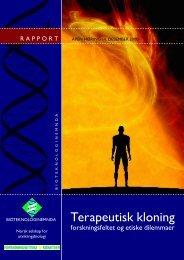 Terapeutisk kloning - Bioteknologinemnda