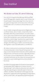 GhochDrei - Institut für Integrative Gestalttherapie GmbH - Page 6