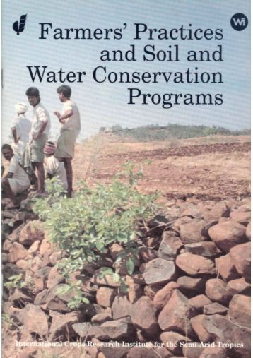 Indigenous Practices for Soil and Water Conservation - Agropedia
