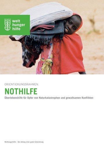 Download Orientierungsrahmen Nothilfe - Deutsche Welthungerhilfe