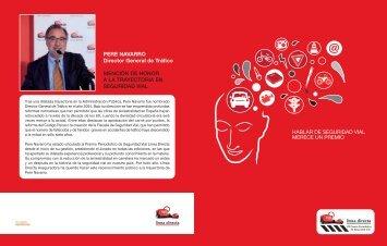 Dossier del VIII Premio Periodístico de seguridad vial Línea Directa.