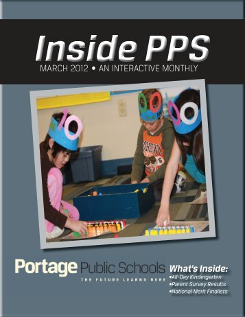 March Draft.indd - Portage Public Schools