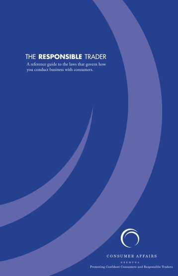Download Responsible Trader Reference Guide - Consumer Affairs ...