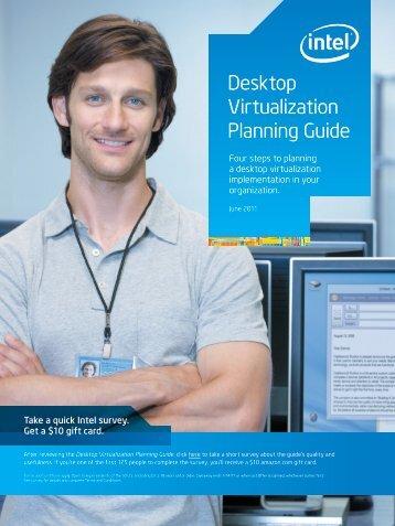 Desktop Virtualization Planning Guide - Intel