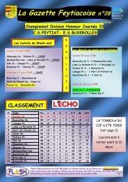 La Gazette Feytiacoise n°28 - Footeo
