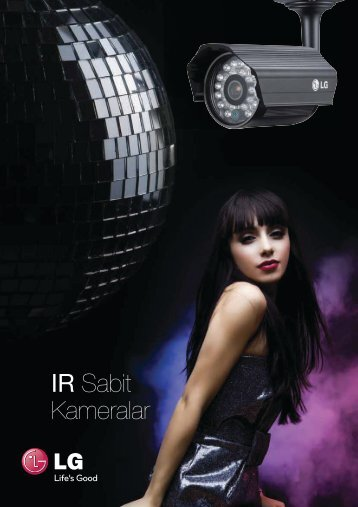 IR Sabit Kameralar - LG Cctv