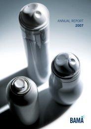 2007 BAMA Annual Report - British Aerosol Manufacturers ...