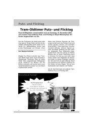 TCB-Zytig - Tramclub Basel
