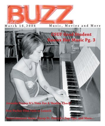 CSUF Grad Student Knows Her Music Pg. 3 - The Buzz