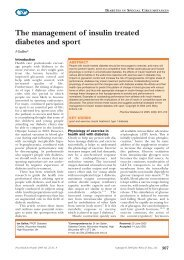 The management of insulin treated diabetes ... - Practical Diabetes