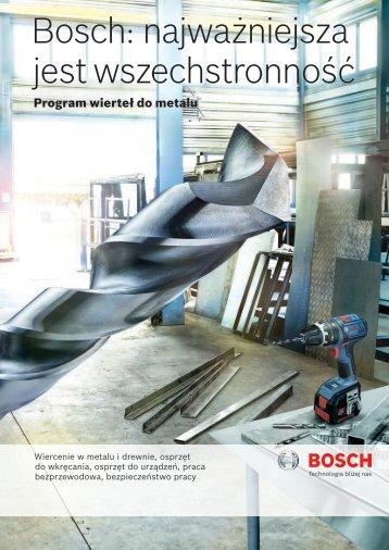 Bosch: najważniejsza jest wszechstronność