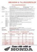 tilläggsregler - Ränneslättsloppet - Page 2