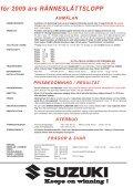 tilläggsregler - Ränneslättsloppet - Page 3