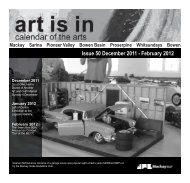 Art is in issue 50.indd - Mackay Regional Council - Queensland ...