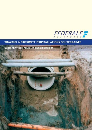 Guide pratique Travaux Souterrains