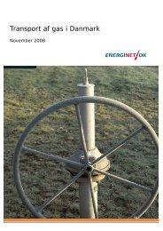 Transport af gas i Danmark 2008 - Energinet.dk
