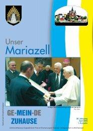 Ausgabe April 2011 - Stadt Mariazell
