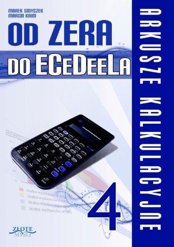 Darmowy e-book z informacjami dotyczącymi ECDL - Excel