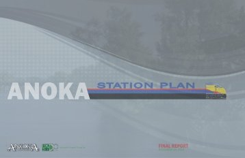 ANOKA STATION PLAN - City of Anoka