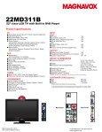 22MD311B - Radio Shack - Page 2