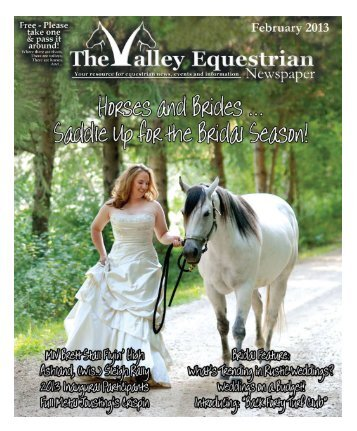 February 2013 - The Valley Equestrian Newspaper