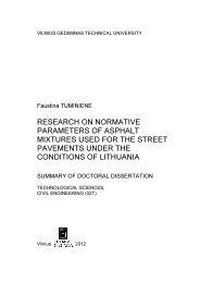 research on normative parameters of asphalt mixtures used for the ...